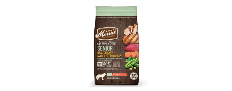 Merrick Grain Free Senior Real Chicken