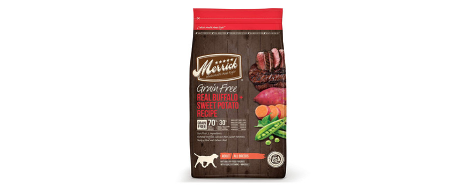 Merrick Grain Free Dry Dog Food For Diabetic Dogs