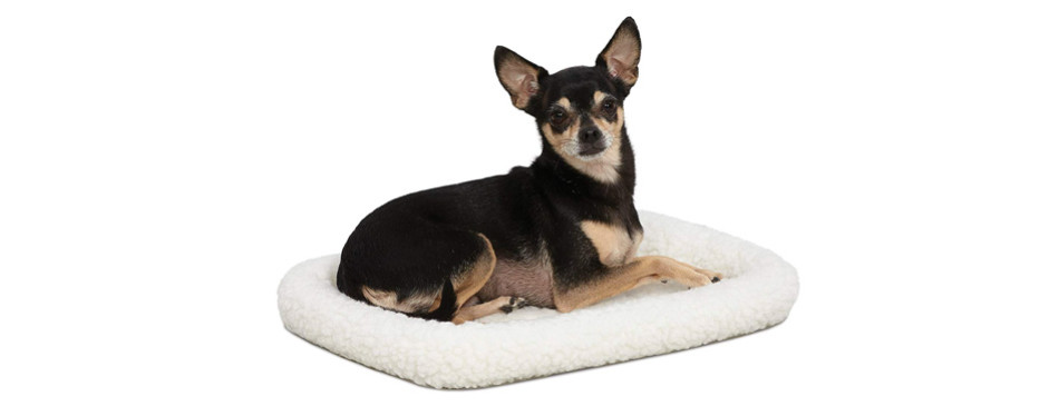 MidWest Deluxe Bolster Dog Crate Pad