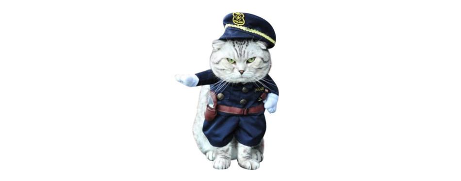 NACOCO Policeman Cat Costume