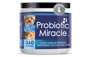 NUSENTIA Probiotic Miracle Dog