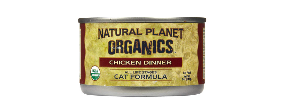 Natural Planet Organics Chicken For Cats