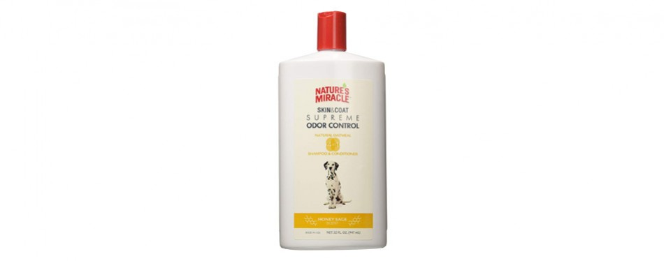 Natures Miracle Supreme Odour Control Dog Shampoo