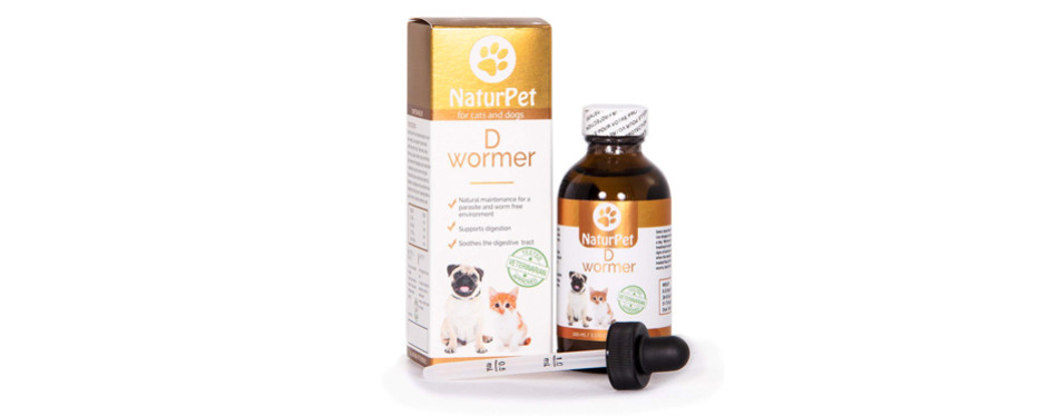 Naturpet Dewormer for Cats