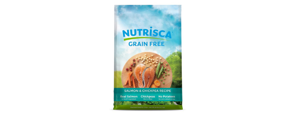 Nutrisca Grain Free Salmon Dry Dog Food For Diabetic Dogs