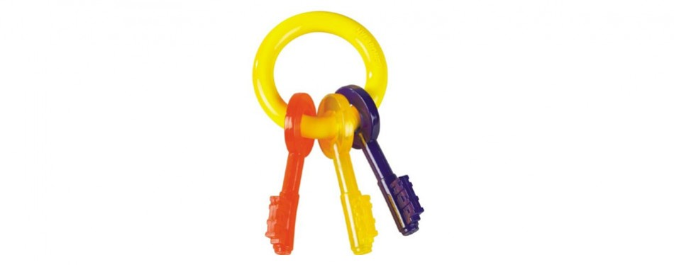 Nylabone Just For Puppies Key Ring Puppy Teething Toy