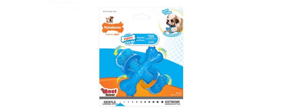 Nylabone Puppy Chew Beef Chew Toy