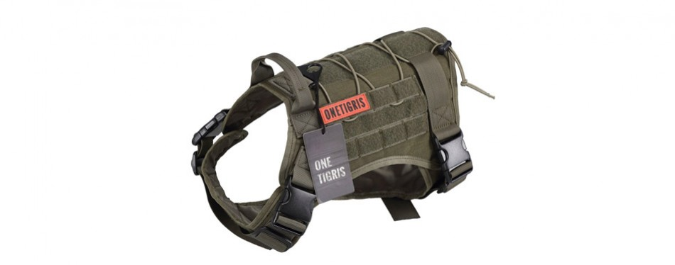 OneTigris Tactical Service Dog Harness