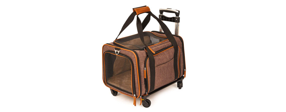 Pet Peppy Premium Airline Approved Pet Carrier