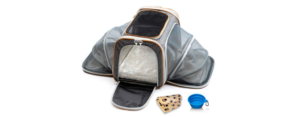 PETYELLA Luxury Airline Approved Pet Carrier