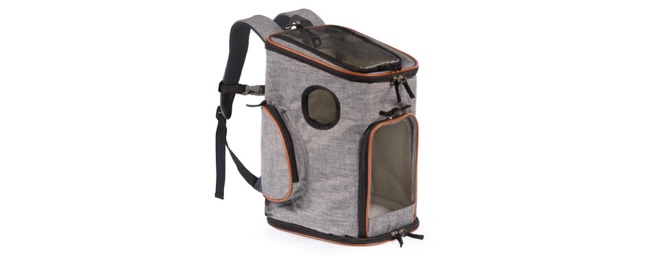 Pawfect Pets Soft-Sided Dog Carrier Backpack