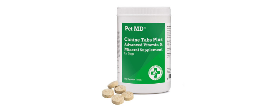 Pet MD Canine Tabs Plus Advanced Prenatal Vitamins for Dogs