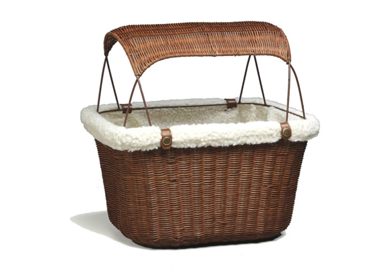 PetSafe Solvit Tagalong Basket Dog Carrier for Bikes
