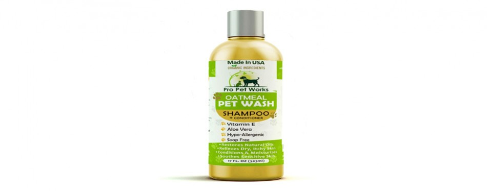 Pro Pet Works Oatmeal Shampoo and Conditioner Combo
