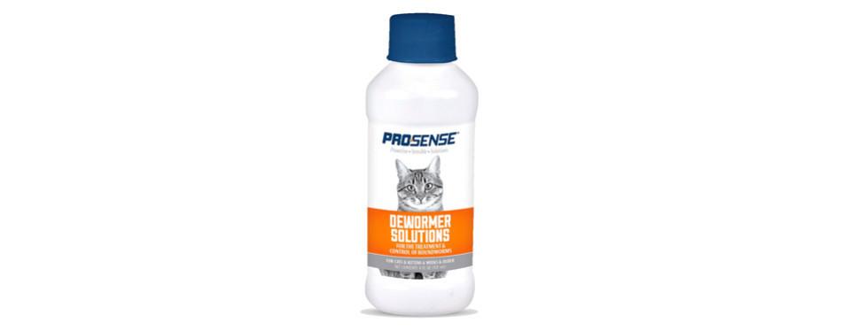 Pro-Sense Liquid Dewormer Solutions For Cats