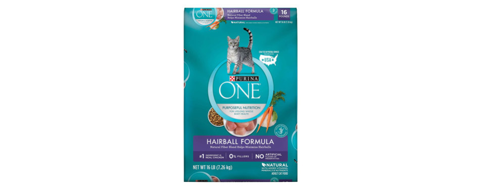 Purina ONE Hairball Dry Cat Food
