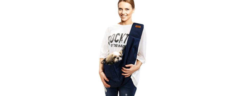 RETRO PUG Pet Sling Carrier