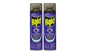 Raid Flea Killer Plus, Carpet & Room Spray