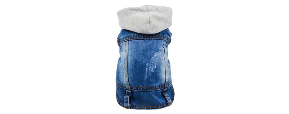 SILD Pet Clothes Dog Jeans Jacket