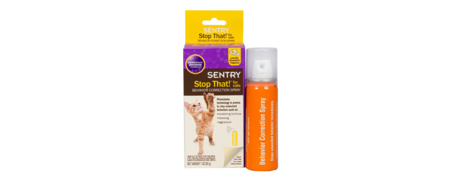 Sentry Stop That! Cat Calming Spray