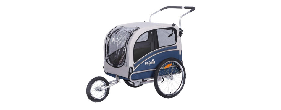 Sepnine Dog Bike Trailer
