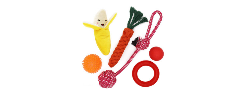 Small Dog Toys 6 Pack