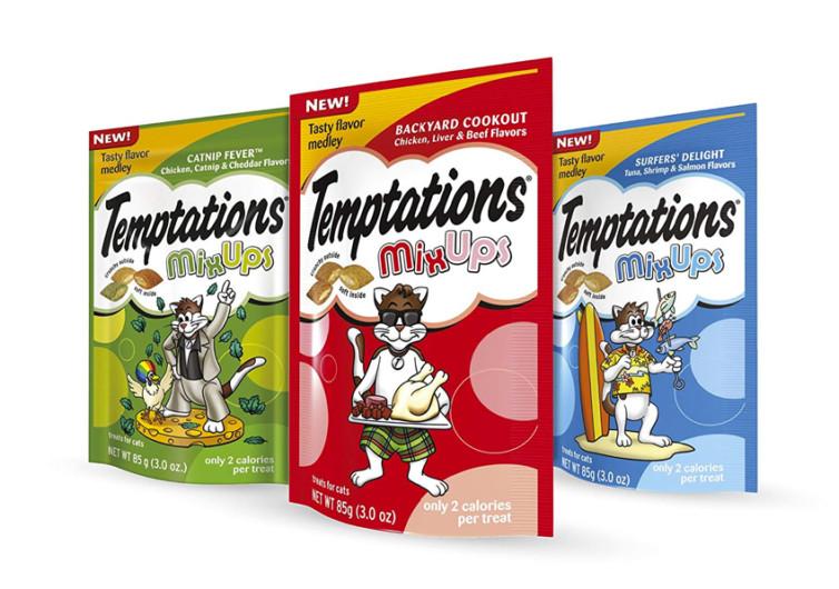 TEMPTATIONS Mixup Treats for Cats