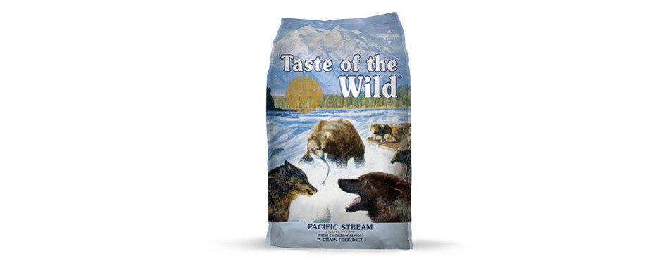 Taste of the Wild Grain Free Dog Food For Sensitive Stomachs