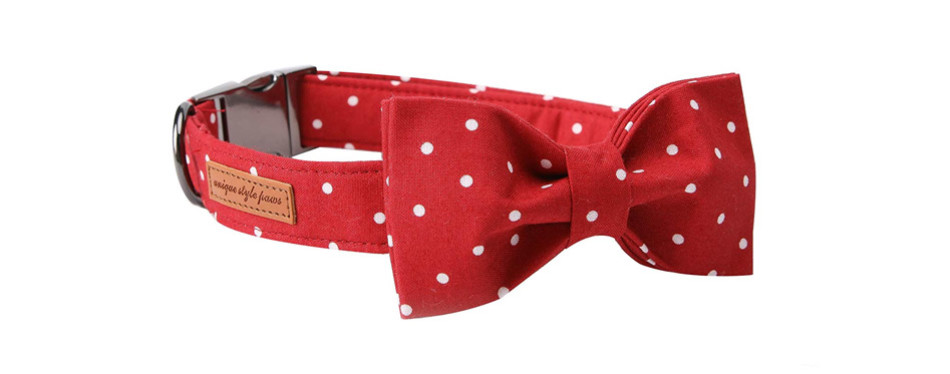 USP Pet Soft &Comfy Bowtie Cat Collar