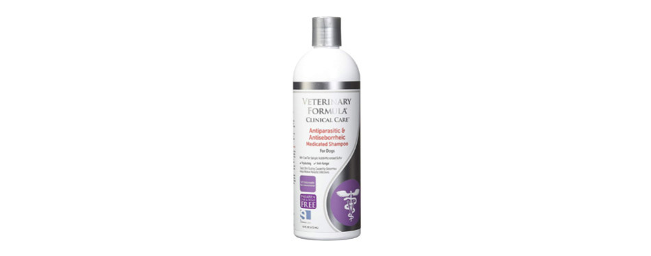 Veterinary Formula Clinical Care Medicated Dog Shampoo