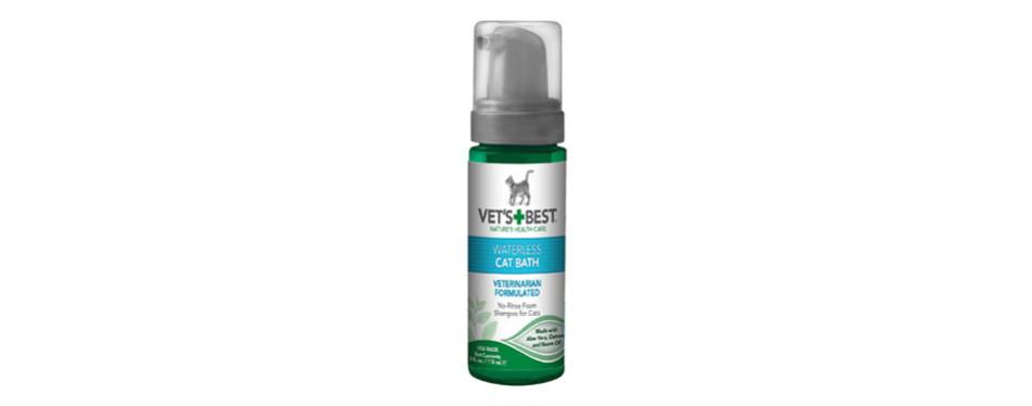 Vet's Best No-Rinse Clean Waterless Cat Shampoo