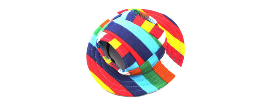 WINOMO Round Brim Pet Dog Hat