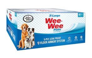 Wee-Wee Puppy Pee Pads