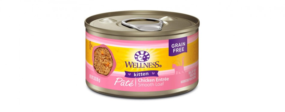 Wellness Natural Pet Food Kitten Canned Cat Food