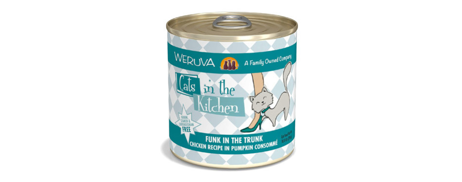 weruva wet low residue cat food