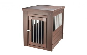 affordable end table dog crate