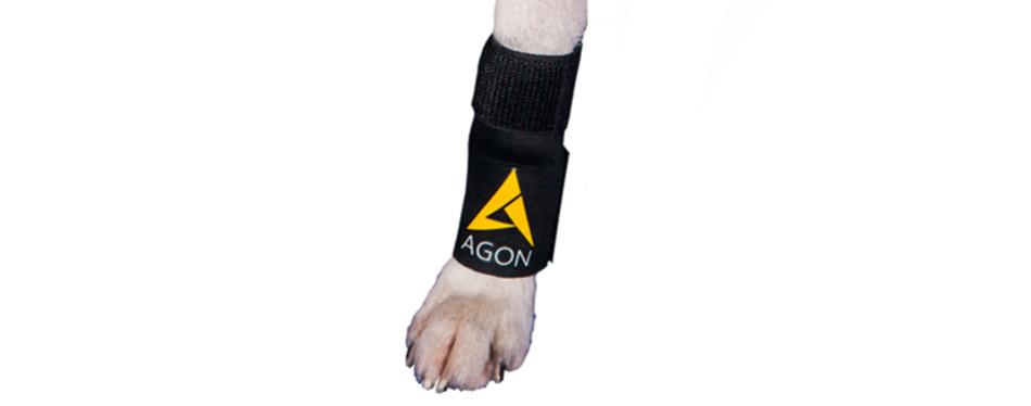 agon dog canine front dog knee brace