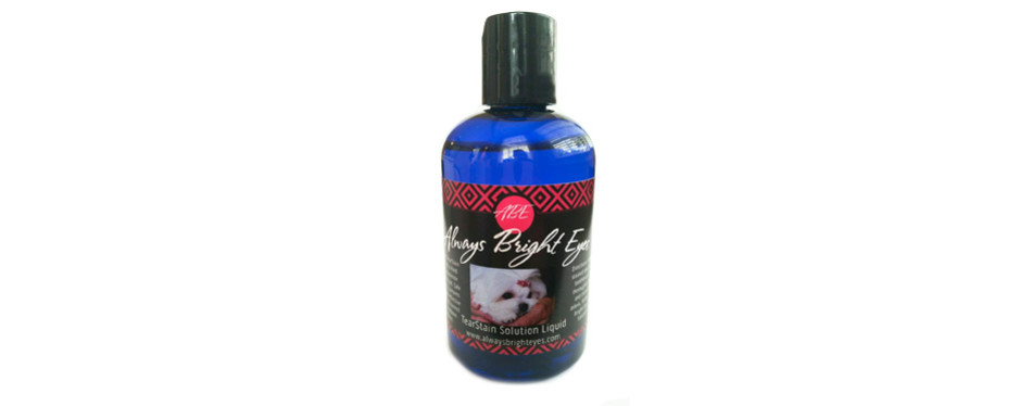 always bright eyes tear stain remover for dogs