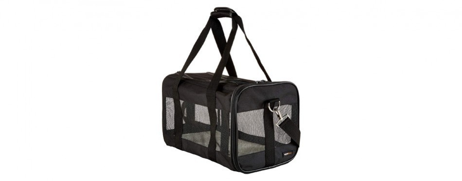 amazonbasics soft-sided travel cat carrier