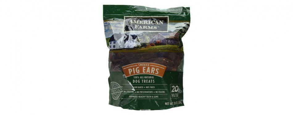 american farms smoked pig ears