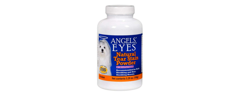 angels' eyes natural tear stain eliminator remover