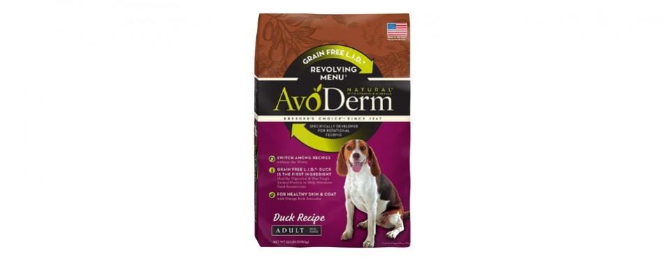 avoderm grain free limited ingredient revolving menu