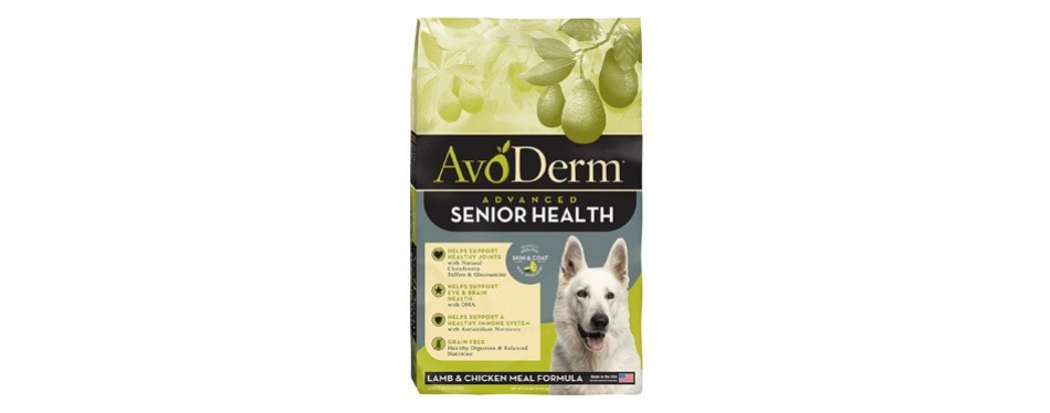 avoderm natural health solutions senior dog food