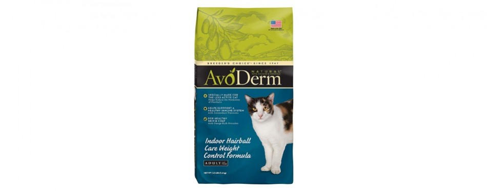 avoderm weight control formula cat food