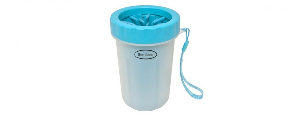 bemibear portable dog paw washer