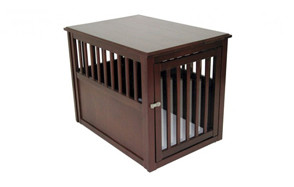 best choice dog crate end table