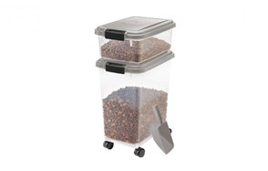 best choice dog food container
