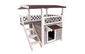 best choice outdoor cat house