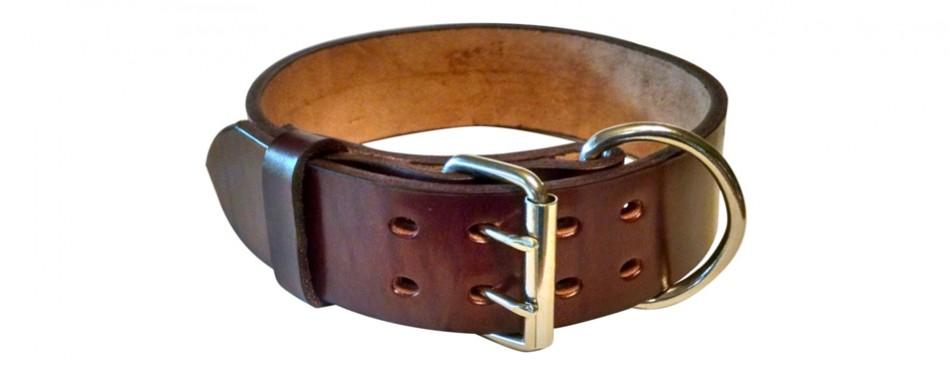 blackjacks leather collar