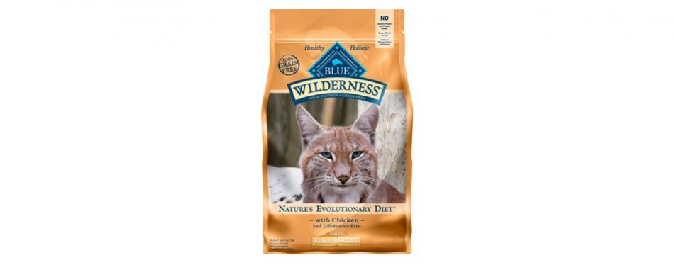 blue buffalo wilderness cat food for weight loss
